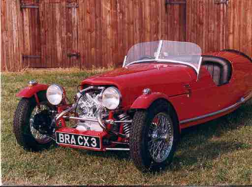 BRA CX3 three wheeler