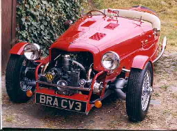 BRA CV3 Citroen powered 3 wheeler